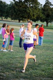 Baldwin High School sophomore Katie Jones led the Bulldogs with a second-place finish at Thursday's Anderson County Invitational meet.