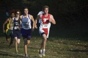 Tonganoxie High senior Patrick Rachford took second place Thursday at the Kaw Valley League Meet at Pierson County Park, in Kansas City, Kan., with a time of 17:27.
