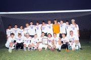 The Baldwin High School boys' soccer team won the regional championship Friday night at its home field. It was the first time the Bulldogs have qualified for the state quarterfinals. BHS beat Independence 4-2 in penalty kicks after regulation ended 0-0.
