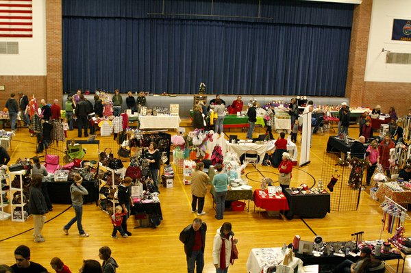 "Thirty-two vendor booths, double the number as last year, filled the gymnasium at the De Soto Community Center for the second Holiday Bazaar. ""I'm so pleased with how things are going this year and the positive feedback,"" said organizer Jennifer Marrs. ""I think this is just what De Soto needed and I hope to keep doing it."""