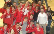The Chieftain wrestling team scored 193 points to win the Kaw Valley League tournament Saturday at Mill Valley.