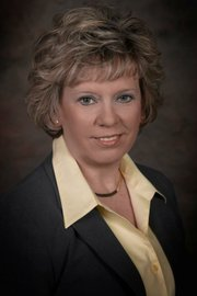 Janice Dickson, deputy county clerk and candidate for Leavenworth County Treasurer in 2012.