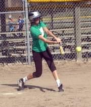 Senior infielder Morgan Drinnon will look to add some pop to the Bulldog lineup after transferring from Eudora.
