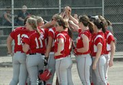 The Tonganoxie High softball team opened its 2012 season Monday with a sweep of Bishop Ward.