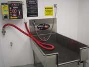 A self-service dog-washing station is among features at the Basehor Orscheln store that are present in only a few or none of the company's other stores.