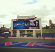 High school competition at the Kansas Relays took place on April 20-21.
