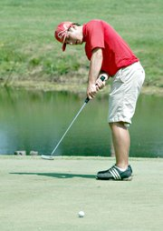 Colby Yates has medaled in each of the last two state tournaments and will look to do so again on Monday.