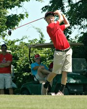 Kody Campbell, named the Chieftains' most improved golfer last year, has medaled three times this season.