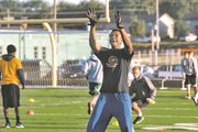 Tyler Howell is the No. 10-ranked Class of 2013 recruit in the state, according to Rivals.com. The 6-8, 260-pound Howell lines up on both the offensive and defensive lines.