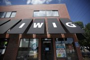 The Lawrence Iwig Family Dairy store opened earlier this year at 1901 Mass. In addition to fresh milk, butter and ice cream from the family dairy in Tecumseh, the store sells other local produce and food items.