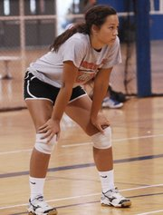 Junior Mariah Seifert will be an outside hitter on the BSHS volleyball team.