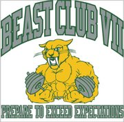 The Beast Club recognizes BLHS student athletes who attend at least 90 percent of summer strength and conditioning workouts.
