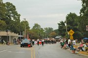 The start of the Tiblow Days Parade makes its way down Nettleton Avenue Saturday morning.