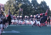 Shawnee Mission North takes the field Thursday before its season opener against Leavenworth.