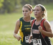 BLHS junior Ally Laney ran a 17:39.97 at the Bonner Springs Invitational Saturday at Wyandotte County Park.