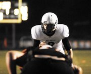 MVHS senior Skyler Windmiller threw for 271 yards and six touchdowns on Friday against Bonner Springs.