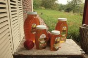 Richard Bean's Blossom Trail Bee Ranch, near Baldwin City, produces and sells honey, honeycomb and bee pollen.