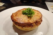 Pork Cheek Pie will be on the new dinner menu rolling out later this month at the Rieger Hotel Grill and Exchange, 1924 Main St., Kansas City, Mo.