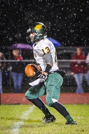 BLHS senior Tanner Garver led the Bobcats with 118 passing yards in Friday&#39;s 13-8 loss at Jefferson West to open district play. 