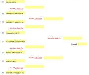 Tonganoxie sub-state volleyball bracket