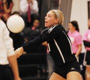 MVHS junior Abby Ford led the Jaguars with 19 digs on Saturday.