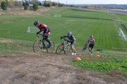 Stump Park provides some challenging terrain for cyclocross racing, one of many elements that have created a hip cycling culture in Shawnee.