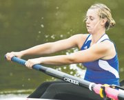 Emma Umbarger, a Mill Valley alum, is a junior on the Kansas University rowing team. In 2011-12, Umbarger was a member of the fourth-place boat in the womens open four at the Head of Oklahoma event.