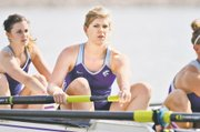 Adria Ley, an SM Northwest alum, is a senior on Kansas States rowing team. Ley has earned three varsity letters entering her fourth season as a Wildcat. Ley also has been named to the Big 12 Commissioners Honor Roll both semesters of each of her first three years with the team. Last season, Ley earned a gold medal in two events.