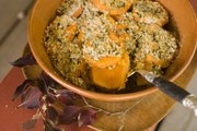 Herb crusted sweet potatoes, a classic side dish for Thanksgiving dinner.