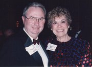Shawnee City Attorney Marvin Rainey is pictured with Joan Finney, then governor of Kansas, in this early 1990s photo.