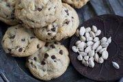 Cardamom Chocolate Macadamia Cookies