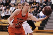 SM Northwest freshman Brenni Rose scored six points and added three rebounds against the Vikings on Thursday, Jan. 3.