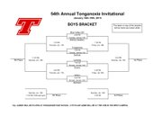 Boys bracket