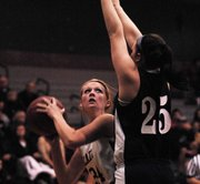 Victoria Smith scored a team-high 17 points to lead BLHS past Lansing, 56-35, on Friday.