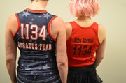 Tough-sounding Nicknames like those Strafuss and Roach sport on their uniforms are a roller derby tradition.