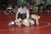 Cory McCleary was Basehor-Linwood's only individual champion Saturday in Tonganoxie.