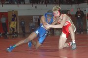 Sophomore Dalton Tavis (126 pounds)
