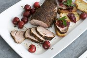 Coffee provides deep, rich flavors with just a hint of acid. It's a combination that works wonders for roasted meat, such as this recipe for Cherry-Topped Coffee-Roasted Pork Tenderloin.