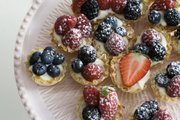 Creamy lemon-berry tartlets are quick and delicious, freeing up time to focus on preparing the rest of an Easter meal.