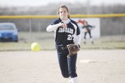 Mill Valley's Lexie Myers opened her season pitching a 6-1 complete-game victory against Basehor-Linwood on Tuesday, April 2.