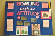 "Kyah Surritte's science project, ""Bowling with an attititude,"" recently earned special recognition from the Linda Hall Library at the University of Missouri-Kansas City."