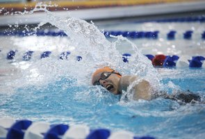 BSHS at 2013 girls state swim and dive championships