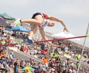 SM Northwest senior Amy Hein placed third in the Class 6A state pole vault championship after clearing 11 feet on Friday in Wichita.