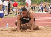 BSHS junior Jordan Jackson placed sixth in the Class 4A triple jump Saturday in Wichita.