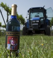 Eudora's BlueJacket Crossing Vineyard and Winery is among Kansas wineries expected to be pouring at the Winesong at Riverfest wine tasting event in De Soto. BlueJacket Crossing 's 2009 vintage of the Off-Dry Vignoles was a gold medal winner at the Finger Lake's International Wine Competition.