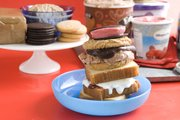 An ice cream sandwich buffet would be a crowd-pleaser at any summertime gathering. Pictured sandwich combinations, from top down, are Black and Red, Double Chocolate and Shortcake.