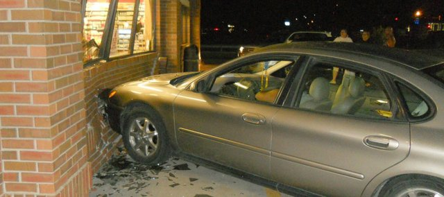 Casey's General Store was unable to provide an estimate cost for the damage from a Tuesday night accident.