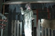 "Known simply as ""The Witch,"" this animatronic prop gets big scares at the 3rd Street Asylum."