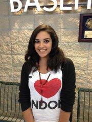 Elise Yasbeck, 15, of Lebanon
