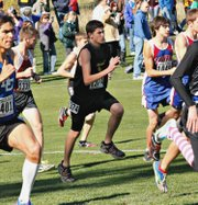 Ryan Bristol became the first McLouth High runner to qualify for state since 2004. He placed 72nd in the 2A boys race.
